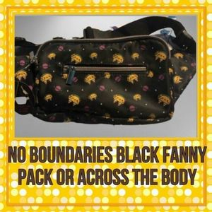 No Boundaries Blk. Fanny Pack, or Across the Body